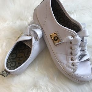 G By Guess Leather white white size 5.5M